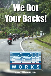 Make sure that your scooters are roadworthy. Visit 2211Works for a complete scooter check-up!